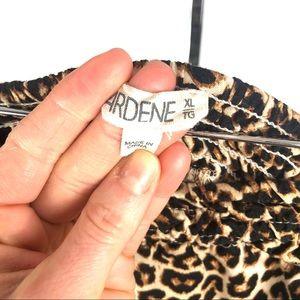 Ardene Other - Ardene leopard 🐆 print strapless romper